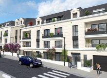 Lancement du programme immobilier neuf Le Jardin d'Hugo à Saint-Cyr-l'Ecole (78)