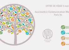 Stage Webmarketing – Communication – 6 mois – Paris 9ème